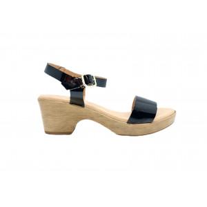 Sandales Kaola 710 CHAROL NEGRO