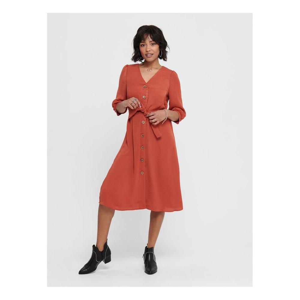 Robe chemise Only 15201519 ceinture à nouer