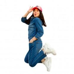 Combinaison en jeans VILA 14052935