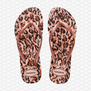 HAVAIANAS SLIM ANIMAL BALLET ROSE