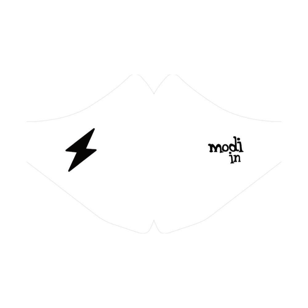 LOT DE 3 MASQUES ECLAIR logo MODI IN