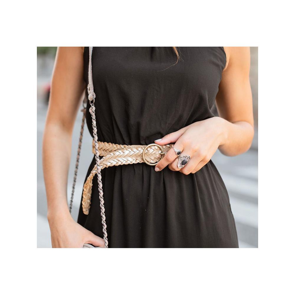 nadinas ceinture en cuir Pieces 17106816