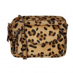 Sac en cuir leopard 17100636