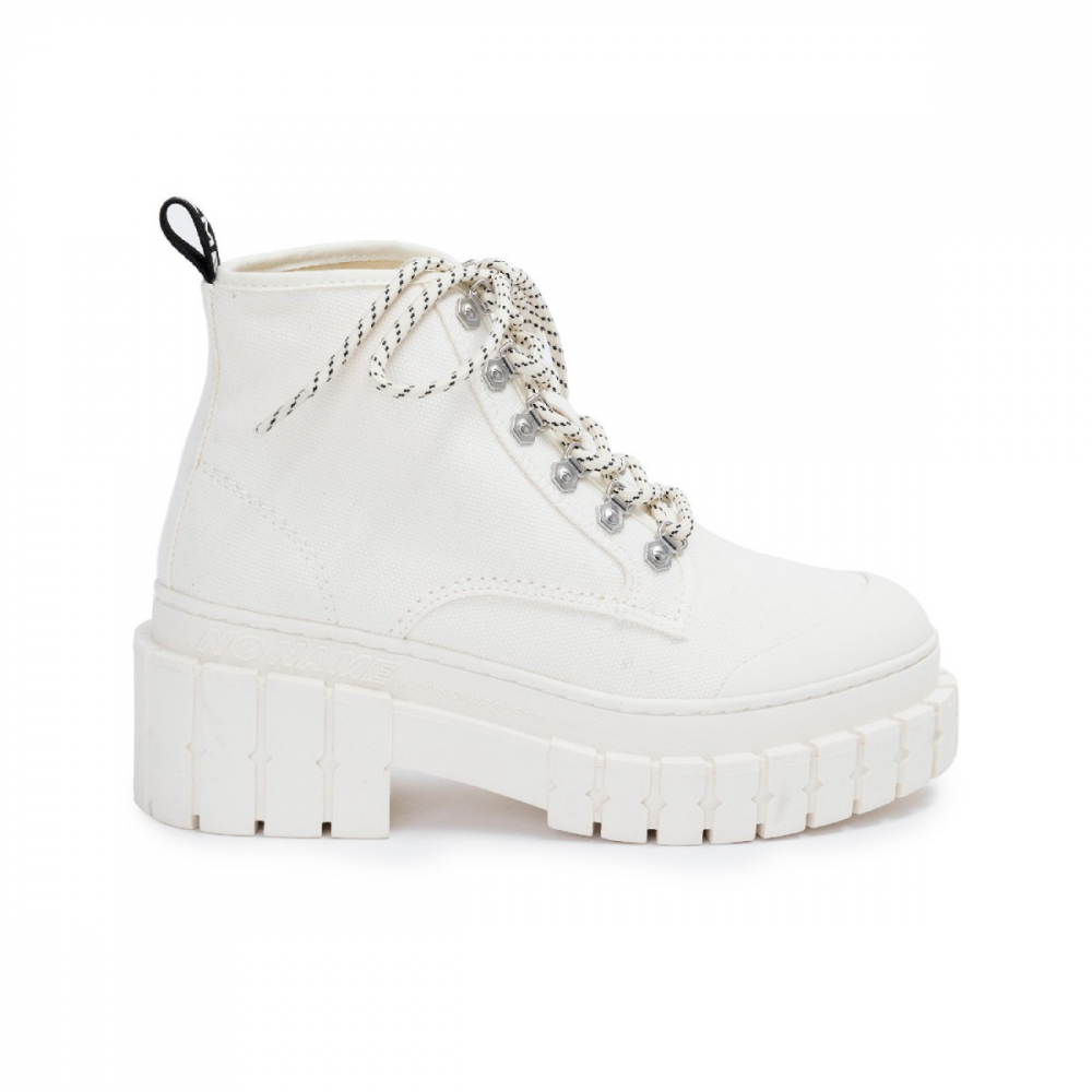 KROSS LOW BOOTS IVORY NO NAME