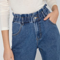 JEAN PAPERBAG TAILLE ELASTIQUE ONLY 15228234